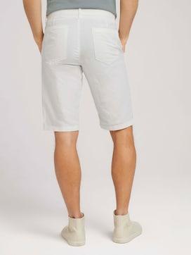 Josh chino linen bermuda shorts - 2 - TOM TAILOR