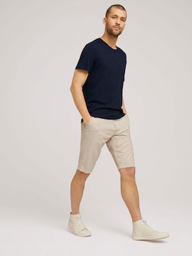 Josh chino linen bermuda shorts - 3 - TOM TAILOR