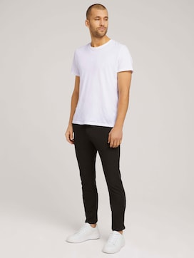 Travis Slim Jersey Hose - 3 - TOM TAILOR