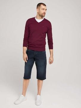 Morris Relaxed Overknee Shorts - 3 - TOM TAILOR