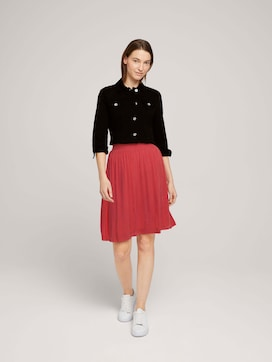 Flowing skirt with an elastic waistband - 3 - TOM TAILOR