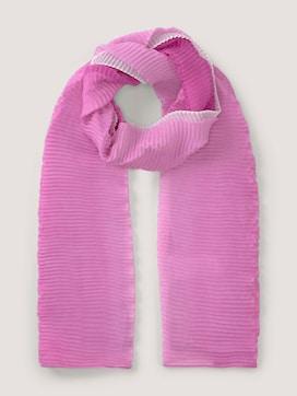 Plissierter Schal mit Farbverlauf - 7 - TOM TAILOR