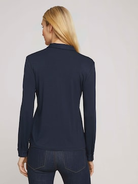 shirt blouse made of jersey - 2 - TOM TAILOR