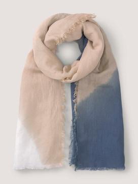 leichter Schal mit Farbverlauf - 7 - Mine to five