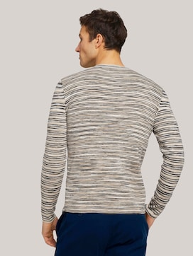 Sweatshirt in Melange-Optik - 2 - TOM TAILOR