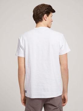 T-Shirt in Melange-Optik - 2 - TOM TAILOR Denim