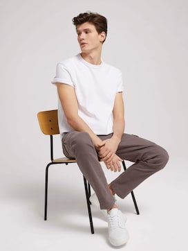T-Shirt in Melange-Optik - 5 - TOM TAILOR Denim