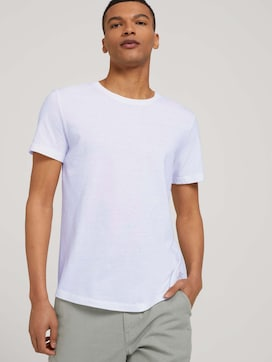 getextureerd T-shirt - 5 - TOM TAILOR Denim