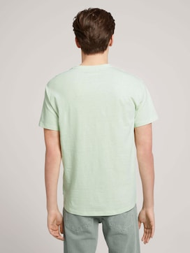 T-shirt van linnenmix - 2 - TOM TAILOR Denim