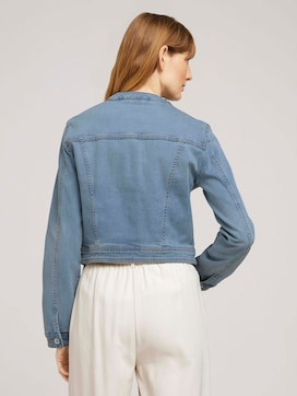 Kurze Jeansjacke aus Bio-Baumwolle - 2 - TOM TAILOR