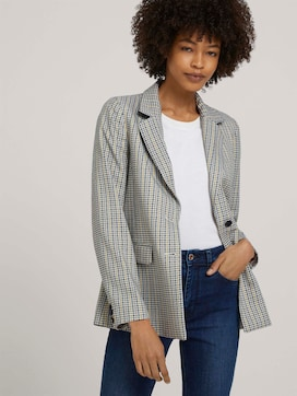Karierter Blazer im Girlfriend Fit - 5 - Mine to five