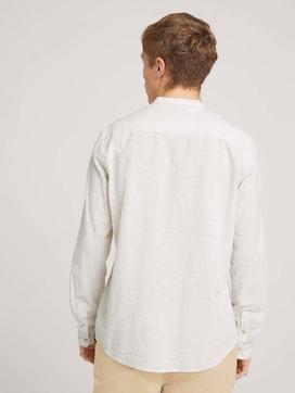 gemustertes Hemd mit Stehkragen - 2 - TOM TAILOR Denim