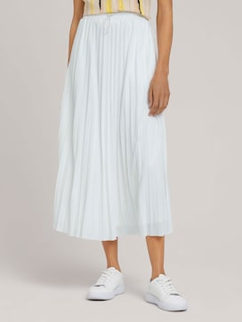 Elasticated pleated maxi skirt - 1 - Mine to five