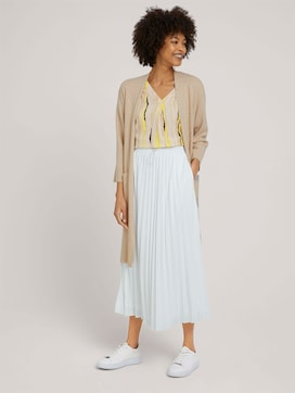 Elasticated pleated maxi skirt - 3 - Mine to five