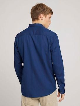 strukturiertes Hemd mit Bio-Baumwolle - 2 - TOM TAILOR Denim