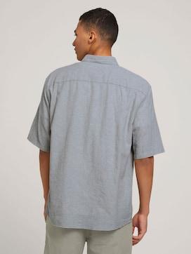 short-sleeved shirt made with linen - 2 - TOM TAILOR Denim