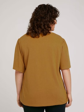 t-shirt with flounce sleeves - 2 - My True Me