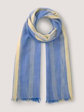 Fließender Schal mit Streifen - 7 - TOM TAILOR Denim