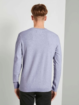 Strukturierter Strickpullover - 2 - TOM TAILOR Denim