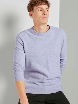 Strukturierter Strickpullover - 5 - TOM TAILOR Denim