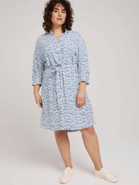 shirt dress with a waistband - 5 - My True Me