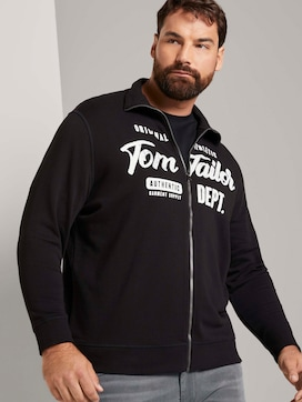 Sweatjacke mit Stehkragen - 5 - Tom Tailor E-Shop Kollektion