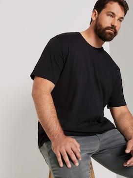 Basic T-Shirt mit Organic Cotton - 5 - Men Plus