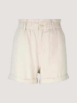 Relaxed Paperbag Shorts - 7 - TOM TAILOR Denim