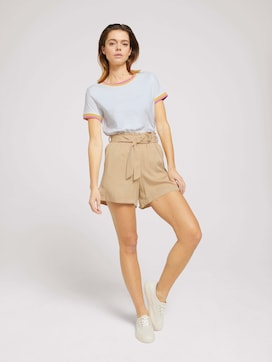 Soft shorts made with lyocell - 3 - TOM TAILOR Denim