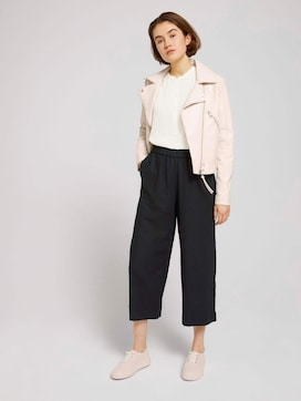 Culotte Hose aus Leinen - 3 - TOM TAILOR Denim