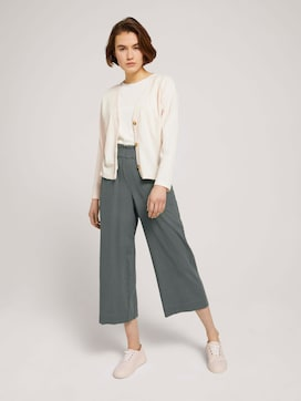 Culotte broek van linnen - 3 - TOM TAILOR Denim