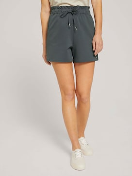 Relaxed Shorts mit recyceltem Polyester - 1 - TOM TAILOR Denim