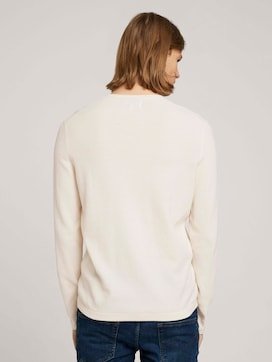 textured sweater - 2 - TOM TAILOR Denim