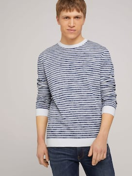 gestreifter Pullover - 5 - TOM TAILOR Denim