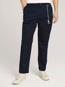 Relaxed Fit Chinohose mit Bio-Baumwolle - 1 - TOM TAILOR Denim