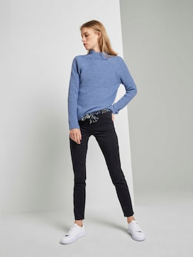 Alexa slim jeans with a tie belt - 3 - TOM TAILOR