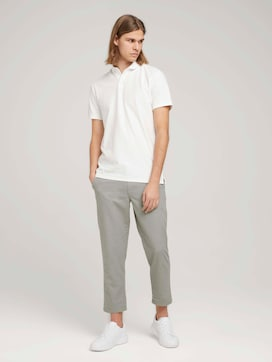 Linnen Relaxed Chino - 3 - TOM TAILOR Denim