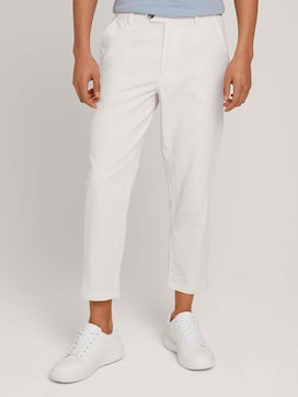 Linnen Relaxed Chino - 1 - TOM TAILOR Denim