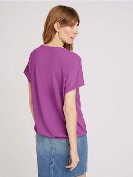 T-shirt met V-hals - 2 - TOM TAILOR