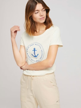 T-Shirt mit Print - 5 - TOM TAILOR Denim