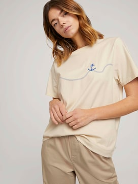 T-Shirt mit Anker Print - 5 - TOM TAILOR Denim