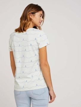 T-shirt with an anchor print - 2 - TOM TAILOR Denim