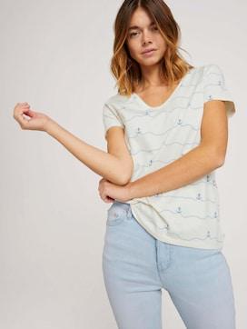 T-shirt with an anchor print - 5 - TOM TAILOR Denim