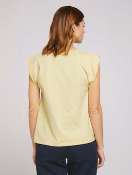 Ärmelloses Shirt mit weiten Schultern - 2 - TOM TAILOR Denim