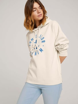 Oversized Hoodie mit Print - 5 - TOM TAILOR Denim