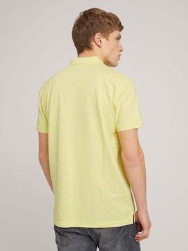 Gemustertes Poloshirt mit Bio-Baumwolle - 2 - TOM TAILOR Denim