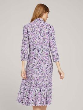 Midi Blusenkleid mit Blumen - 2 - TOM TAILOR