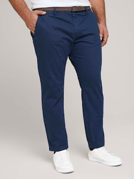 Chino broek met ceintuur - 1 - Tom Tailor E-Shop Kollektion