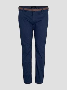 Chino broek met ceintuur - 7 - Tom Tailor E-Shop Kollektion