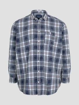 checked shirt with a chest pocket - 7 - Tom Tailor E-Shop Kollektion
